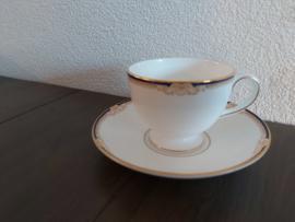 Cavenish - Koffiekop en schotel (Leigh model)