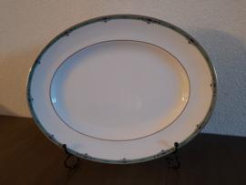 Jade - Ovale vleesschaal 36 x 28 cm