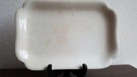 Regout - Rechthoekige serveerschaal ca 32 x 21,5 cm (maat 10)