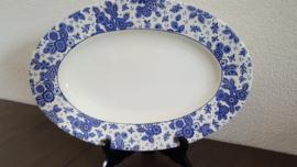Beatrix - Ovale serveerschaal ca 33 x 23 cm