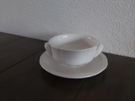 Manoir - Soepkom (ca 12 cm) met schotel