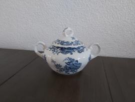 Valeria Blue - Suikerpot 8 cm hoog