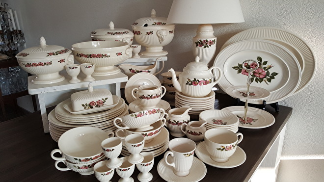 Royal Albert Servies Wit.Home Tante S Serviezen