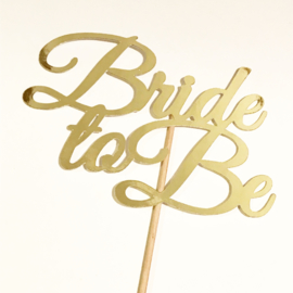 "Caketopper ""Bride to Be"""