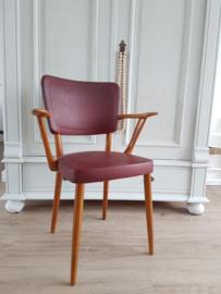 vintage arm stoel