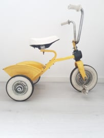 """Vintage driewieler  """"geel"""""""