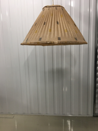 vintage stoffen hanglamp