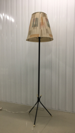 vintage staande lamp