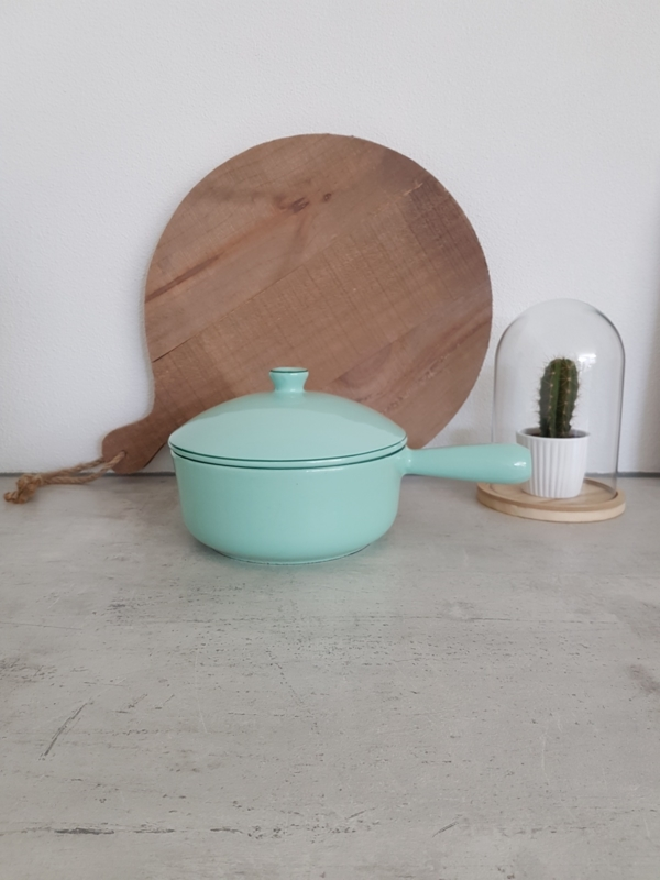 """vintage emaille pan """" mint"""""""