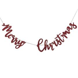 SLINGER HOUT 'MERRY CHRISTMAS/ROOD' GINGER RAY (1ST)