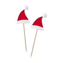 CUPCAKE TOPPERS 'KERSTMUTS' GINGER RAY (10ST)