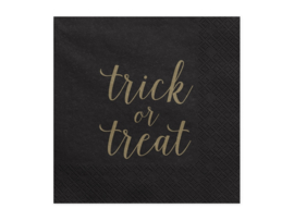 SERVETTEN 'TRICK OR TREAT' - 20 STUKS