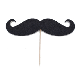 TAARTTOPPER 'MR. MOUSTACHE' (1ST)