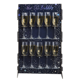 PROSECCO WALL 'POP THE BUBBLY' GINGER RAY (1ST)