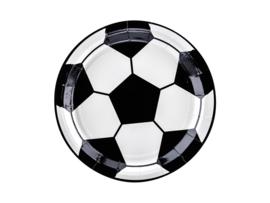 PAPIEREN BORDEN 'VOETBAL' FOOTBALL PARTY (6ST)