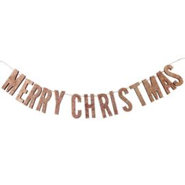 SLINGER HOUT 'MERRY CHRISTMAS/ROSÉGOUD' GINGER RAY (1ST)