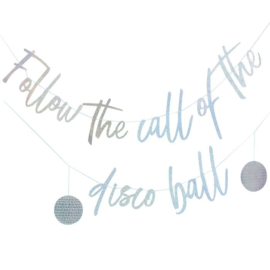 SLINGER 'FOLLOW THE CALL OF THE DISCO BALL' GINGER RAY (1ST)