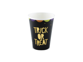 PAPIEREN BEKERS 'TRICK OR TREAT' HOCUS POCUS (6ST)