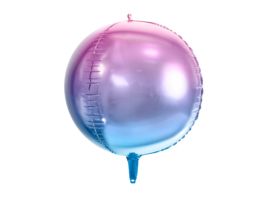 FOLIE BALLON 'OMBRE VIOLET/BLAUW' MERMAID PARTY (1ST)