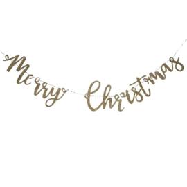 SLINGER HOUT 'MERRY CHRISTMAS/GOUD' GINGER RAY (1ST)
