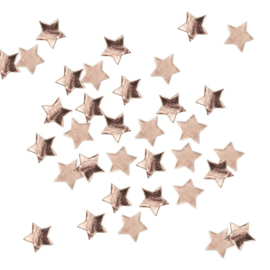 CONFETTI 'ROSE GOLD METALLIC STAR' GINGER RAY (14GR)