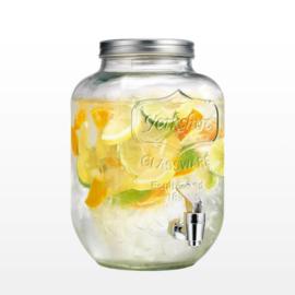 MASON JAR 'YORKSHIRE DRINKDISPENSER 4L' (1ST)