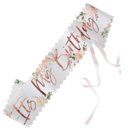 SJERP 'IT'S MY BIRTHDAY/DITSY FLORAL' GINGER RAY (1ST)