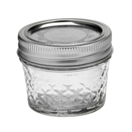 BALL MASON JAR 'QUILTED CRYSTAL JELLY 4OZ / 120 ML' (1ST)