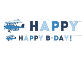 SLINGER 'HAPPY B-DAY!' LITTLE PLANE (1ST)
