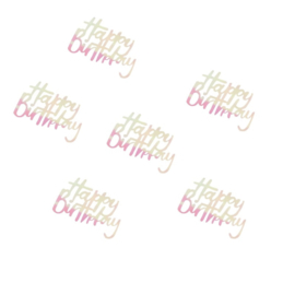 CONFETTI 'HAPPY BIRTHDAY/IRISEREND' GINGER RAY (14GR)