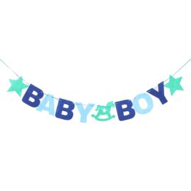SLINGER 'BABYSHOWER BABY BOY ' (1ST)