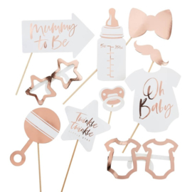 PHOTOBOOTH PROPS 'TWINKLE TWINKLE' GINGER RAY (10ST)