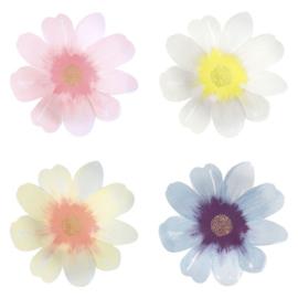 PAPIEREN BORDEN 'FLOWER GARDEN' MERI MERI (8ST)