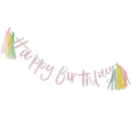 SLINGER 'HAPPY BIRTHDAY/PASTEL' GINGER RAY (1ST)