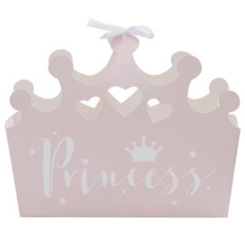 BEDANKDOOSJES ROZE 'PRINCESS PERFECTION' GINGER RAY (5ST)