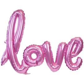 FOLIE BALLON 'LOVE ROZE' (1ST)