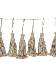 TASSEL SLINGER 'KATOEN/GOUD' DELIGHT DEPARTMENT (14ST)