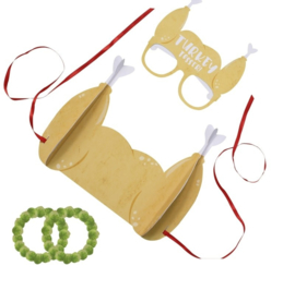 WERPSPEL 'TURKEY TOSSER' NOVELTY CHRISTMAS - 1 SET