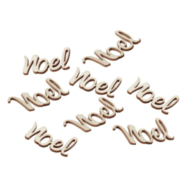 CONFETTI HOUT 'NOEL' GINGER RAY (25ST)
