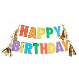 SLINGER 'HAPPY BIRTHDAY/REGENBOOG' GINGER RAY (1ST)