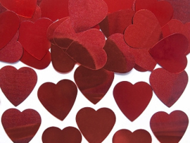 CONFETTI 'HARTJES ROOD' VALENTINES (10GR)
