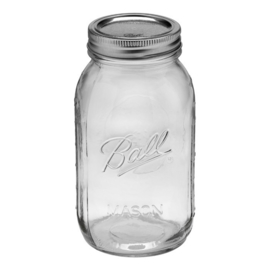 BALL MASON JAR 'QUART 32OZ / 950 ML REGULAR MOUTH' (1ST)