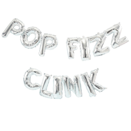 FOLIE BALLON 'POP FIZZ CLINK' GINGER RAY (1ST)