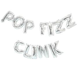 FOLIE BALLON 'POP FIZZ CLINK' GINGER RAY (1ST)