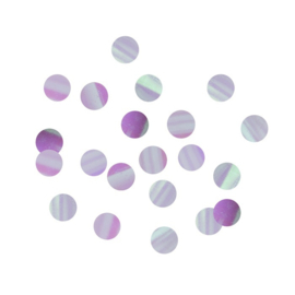 TAFELCONFETTI 'ROND IRIDESCENT PARTY' (14GR)