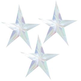 SLINGER 'HANGDECORATIE STERREN' GINGER RAY (3ST)