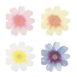 SERVETTEN 'FLOWER GARDEN' MERI MERI (16ST)