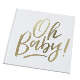 GASTENBOEK 'OH BABY!' GINGER RAY (1ST)