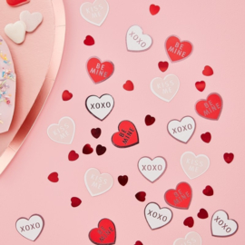 CONFETTI HARTJES 'BE MY VALENTINE' GINGER RAY (14GR)