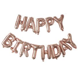 FOLIE BALLON 'HAPPY BIRTHDAY ROSÉGOUD' GINGER RAY (1ST)